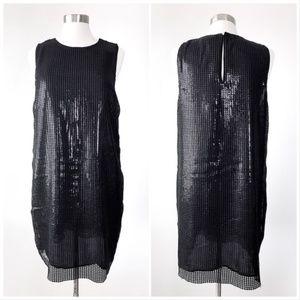 MICHAEL Michael Kors Dresses - Michael Kors Sequin Sleeveless Shift Dress 6